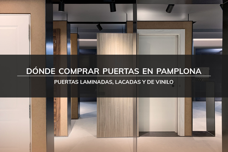 Puertas Pamplona - dónde comprar puertas en pamplona