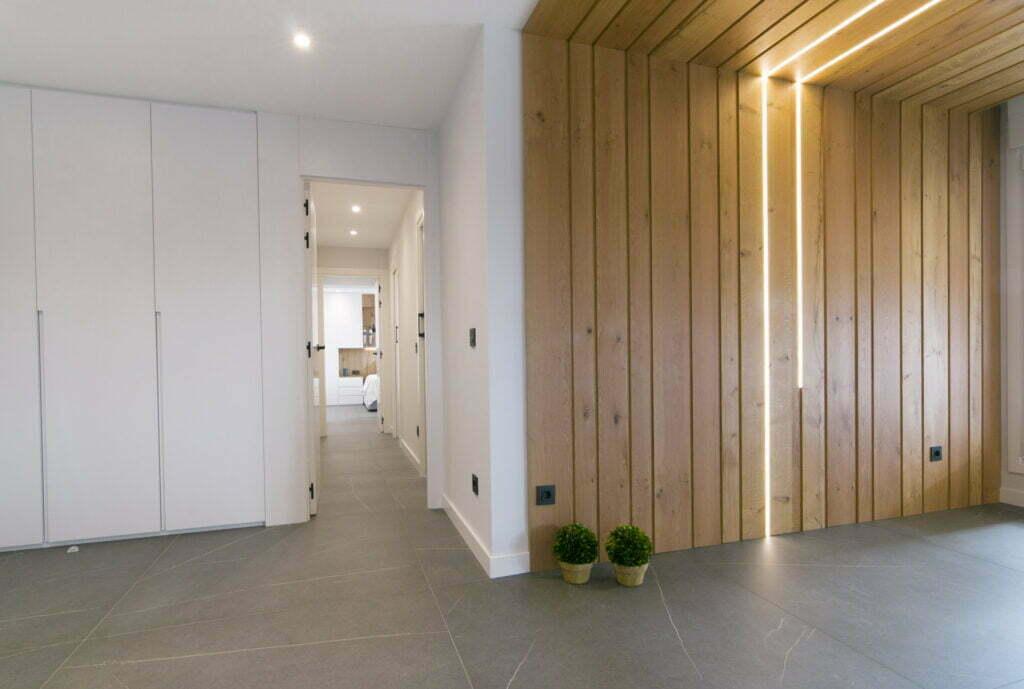 Panelado de madera tendencias decoración otoño-invierno 2020