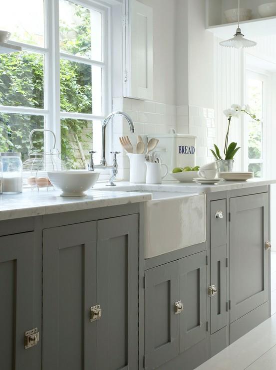 Cocinas Grises Cocinas grises, cocina gris, muebles de cocina grises, mobiliario de cocina gris, cocina gris claro, cocina gris oscuro, cocina gris marengo