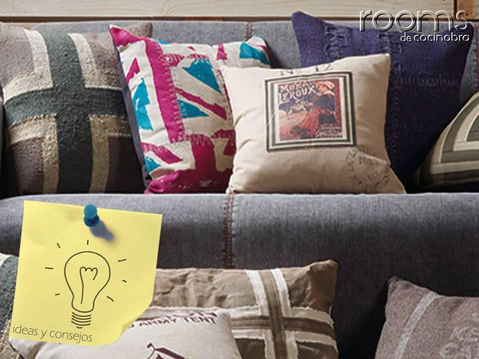 textiles en el salón