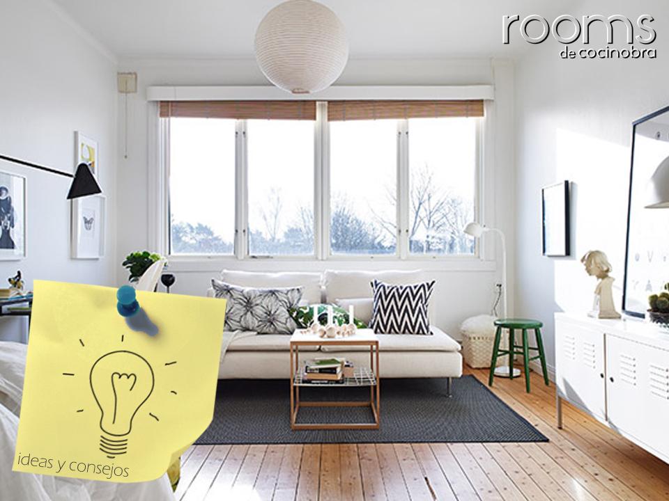 apartamento pequeño estilo nordico