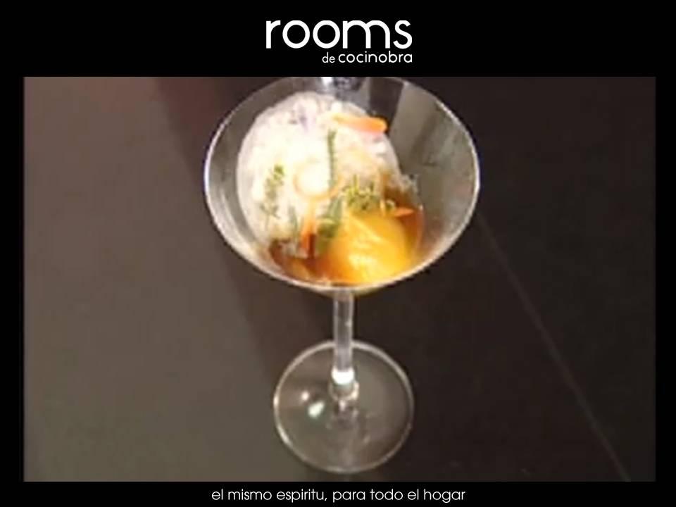 coctel de martini, ron y maracuya