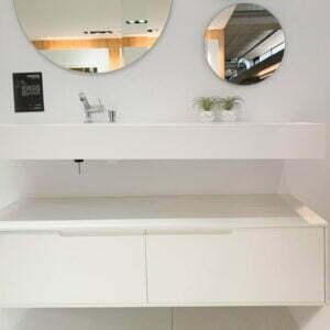 mueble baño coqueta